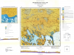 L-36-XVII (Геничесск). Геологическая карта СССР. Серия Причерноморская. Карта четвертичных отложений