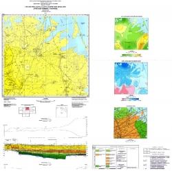 L-36-XXIII (Джанкой). Геологическая карта и карта полезных ископаемых дочетвертичных образований. Серия Крымская