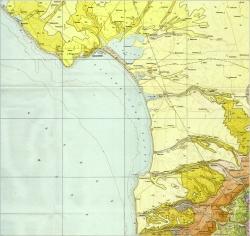 L-36-XXVIII (Евпатория). Геологическая карта СССР. Серия Крымская