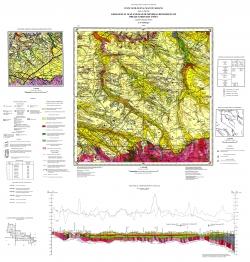 L-37-I (Пологи). Геологическая карта и карта полезных ископаемых дочетвертичных отложений. Центральноукраинская серия