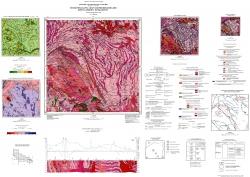L-37-I (Пологи). Геологическая карта и карта полезных ископаемых кристаллического фундамента. Центральноукраинская серия