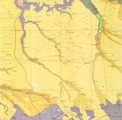 L-37-I (Пологи). Геологическая карта СССР. Центральноукраинская серия
