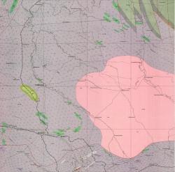 L-37-I (Пологи). Геологическая карта СССР. Карта кристаллического фундамента и палеозойских образований. Центральноукраинская серия