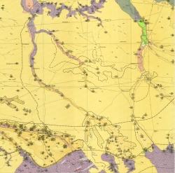 L-37-I (Пологи). Геологическая карта СССР. Карта полезных ископаемых. Центральноукраинская серия