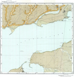 L-37-IX. Государственная геологическая карта СССР. Серия Кума-Манычская