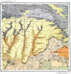 L-37-V. Государственная геологическая карта СССР. Серия Донбасская