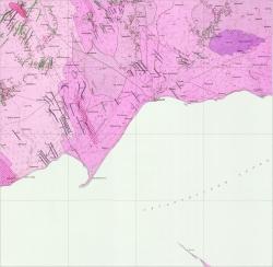 L-37-VIII (Мариуполь). Геологическая карта СССР. Центральноукраинская серия