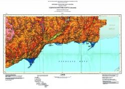 L-37-VIII (Мариуполь); L-37-IX (Таганрог). Гидрогеологическая карта. Центральноукраинская серия
