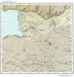 L-37-X. Государственная геологическая карта СССР. Серия Кума-Манычская