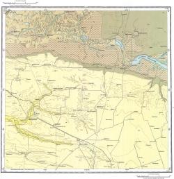 L-37-XI. Государственная геологическая карта СССР. Серия Кума-Манычская