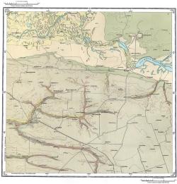 L-37-XI. Карта четвертичных отложений СССР. Серия Кума-Манычская