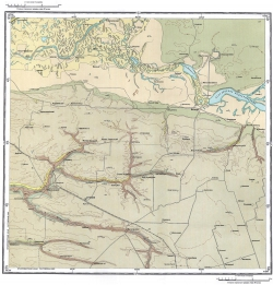 L-37-XI. Карта полезных ископаемых СССР. Серия Кума-Манычская