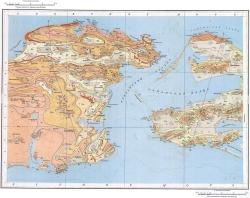 L-37-XIX,XXV. Государственная геологическая карта СССР. Серия Крымская