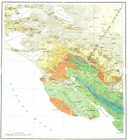 L-37-XXVI,XXXII. Государственная геологическая карта СССР. Серия Кавказская