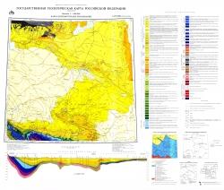 L-(37),(38) (Ростов-на-Дону). Государственная геологическая карта Российской Федерации. Карта дочетвертичных отложений