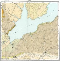 L-38-I. Карта полезных ископаемых СССР. Серия Кума-Манычская