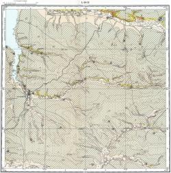 L-38-II. Государственная геологическая карта СССР. Серия Кума-Манычская
