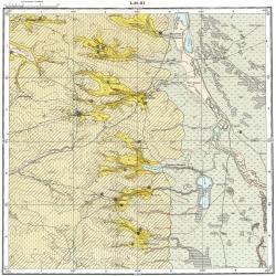 L-38-III. Карта полезных ископаемых СССР. Серия Кума-Манычская