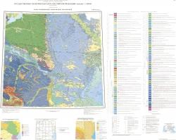 L-38 (Пятигорск). Государственная геологическая карта Российской Федерации. Третье поколение. Скифская серия. Карта среднемиоцен-четвертичных образований