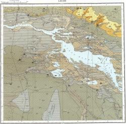 L-38-XIII. Карта полезных ископаемых СССР. Серия Кума-Манычская