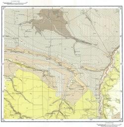 L-38-XIX. Государственная геологическая карта СССР. Серия Кума-Манычская