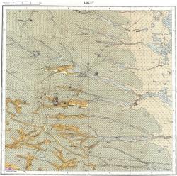 L-38-XV. Государственная геологическая карта СССР. Серия Кума-Манычская