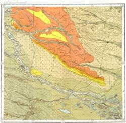 L-38-XXI. Государственная геологическая карта СССР. Серия Кума-Манычская