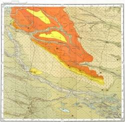 L-38-XXI. Карта полезных ископаемых СССР. Серия Кума-Манычская