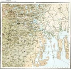 L-38-XXIV. Карта полезных ископаемых СССР. Серия Нижневолжская