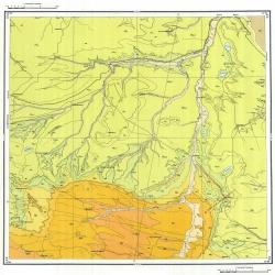 L-38-XXV. Государственная геологическая карта СССР. Серия Кума-Манычская