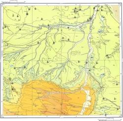 L-38-XXV. Карта полезных ископаемых СССР. Серия Кума-Манычская