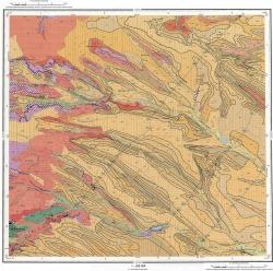 L-38-XXVI. Государственная геологическая карта Российской Федерации. Карта четвертичных отложений. Издание второе. Серия Скифская