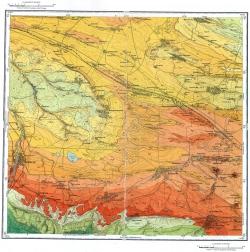 L-38-XXXI. Государственная геологическая карта СССР. Серия Кавказская