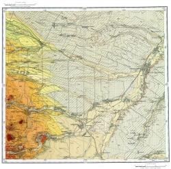 L-38-XXXII. Государственная геологическая карта СССР. Серия Кавказская