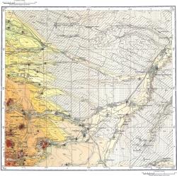 L-38-XXXII. Карта полезных ископаемых СССР. Серия Кавказская