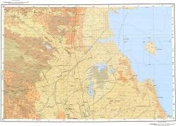 L-38-XXXV,XXXVI. Карта полезных ископаемых СССР. Серия Кума-Манычская