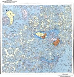 L-39-I. Карта полезных ископаемых СССР. Серия Нижневолжская