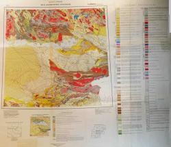L-(43),(44) (Талды-Курган). Геологическая карта СССР. Геологическая карта