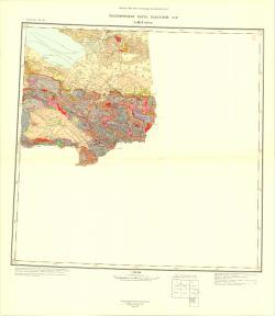 L-45-А (Зайсан). Геологическая карта Казахской ССР