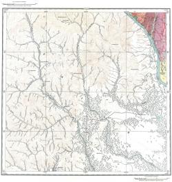 L-52-V. Государственная геологическая карта СССР. Серия Хингано-Буреинская