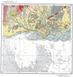 L-52-VI. Государственная геологическая карта СССР. Серия Хингано-Буреинская