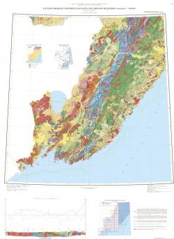 L-(52),53; (K-52,53) (оз.Ханка). Государственная геологическая карта Российской Федерации. Третье поколение. Дальневосточная серия