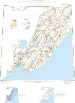 L-(52),53; (K-52,53) (оз.Ханка). Государственная геологическая карта Российской Федерации. Третье поколение. Дальневосточная серия. Карта полезных ископаемых