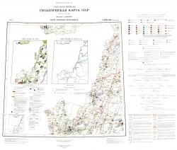 L-(52),(53) (Пограничный). Геологическая карта СССР (новая серия). Карта полезных ископаемых