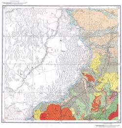 L-53-III. Государственная геологическая карта СССР. Серия Сихотэ-Алинская