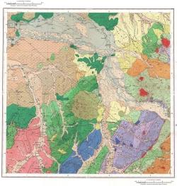 L-53-IV. Карта полезных ископаемых СССР. Серия Сихотэ-Алинская