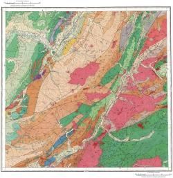 L-53-XVI. Геологическая карта СССР. Сихотэ-Алинская серия