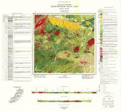 L-53-XVII (Охотничий). Государственная геологическая карта СССР. Сихотэ-Алинская серия
