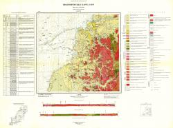 L-53-XX. Геологическая карта СССР. Серия Сихотэ-Алинская