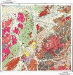 L-53-XXI. Карта полезных ископаемых СССР. Серия Сихотэ-Алинская